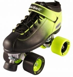 Riedell New Dart 2 Tone Ombre Quad Roller Speed Skates
