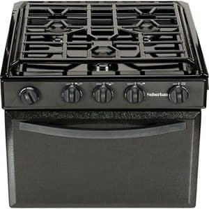 Suburban 3206A Gas Range with Conventional Burners