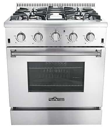 Thor Kitchen HRG3080U Freestanding Professional Style Gas Range
