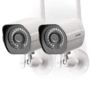 Zmodo Wireless Security Camera System (2 pack)