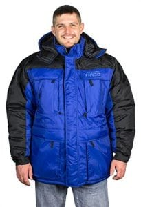 Freeze Defense Men's 3-In-1 Winter Jacket Coat w/Vest