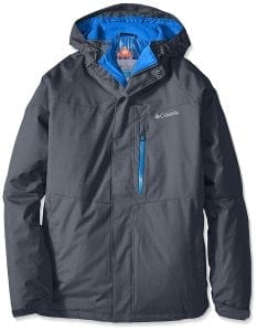 Columbia Men's Big-Tall Alpine Action Jacket