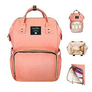 Lifecolor Multi-Function diaper bag backpack