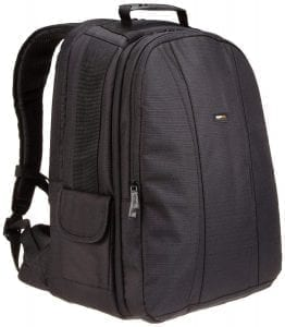 AmazonBasics DSLR and Camera Backpack