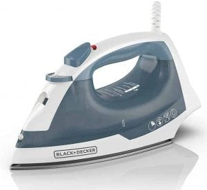 BLACK+DECKER IR40V Easy Steam Nonstick Compact Iron