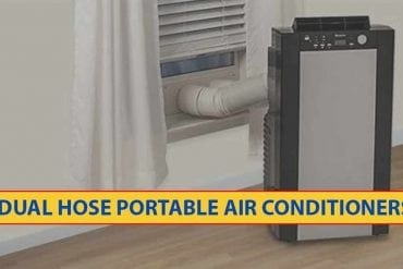 Dual Hose Portable Air Conditioners
