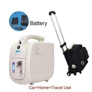 First Expand Travel Portable O2 Concentrator Generator with Battery Car Use Home Air Purifier