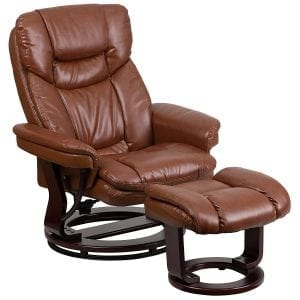 Flash Furniture Vintage Leather Recliner