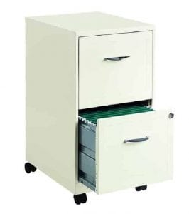 Hirsh Industries 18 inch Deep 2 Drawer Steel File Cabinet