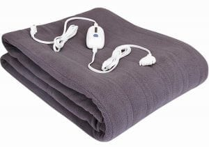 Luxurious Micro-Fleece Electric Blanket