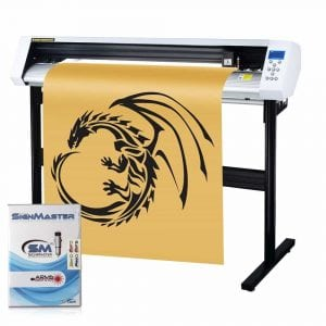 MKCUTTY 53 Vinyl Cutter Sign Cutting Plotter Machine With SignMaster