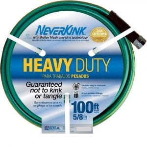 NeverKink Extra Heavy Duty Garden Hose