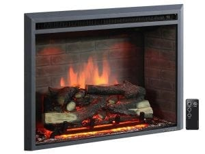 PuraFlame Western Electric Fireplace Insert 30 inches