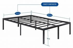 Sleeplace SVC18BF04C Steel Slat Support