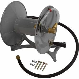 Strongway Perpendicular or Parallel Wall-Mount Garden Hose Reels