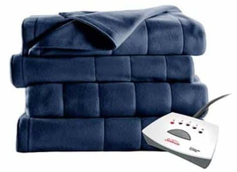 Sunbeam Heated Fleece Electric Blanket