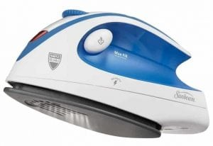 Sunbeam Hot-2-Trot 800 Watt Compact Non-Stick Soleplate Travel Iron