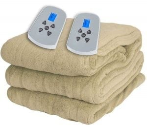 Westerly Microplush Electric Heated Blanket
