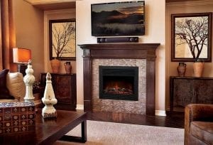 XtremepowerUS Electric Fireplace Insert