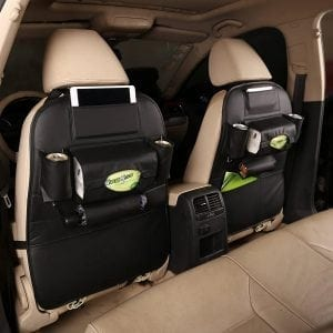 TOCGAMT 2 Pack Leather Car Backseat Organizer