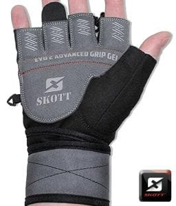Evo 2 Weighted Gloves with Integrated Wrist Support