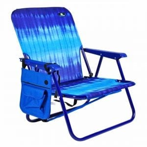 BeachMall Camping& Beach Steel Backpack Folding Chair