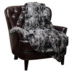 Chanasya Faux Fur Bed Throw Blanket