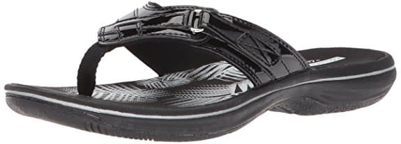 Clarks Women's Breeze Sea Flip-Flops