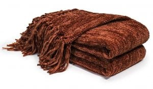 Chenille Thick Couch Throw Blanket