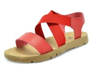 Dream Pair Greek Platform Wedge Sandals for Women