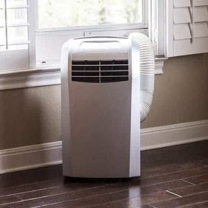 EdgeStar AP12000S Portable Air Conditioner with Dehumidifier and Fan