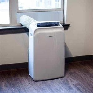 EdgeStar AP14003W Portable Air Conditioner with Dehumidifier