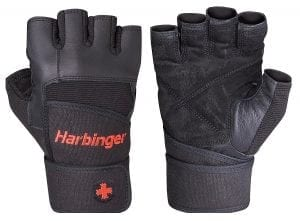 Harbinger Pro Wrist Wraps Weighted Gloves