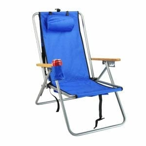 Hi-Back Deluxe Steel Backpack Chair