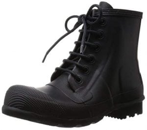 Hunter Mens Original Rubber Lace-Up Boots