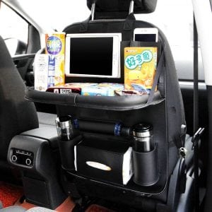 Ideashop Car Backseat PU Leather Organizer