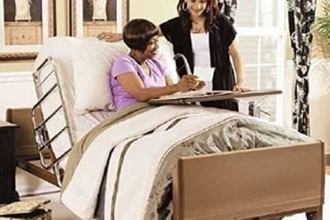 Invacare Full Electric Hospital Bed Package