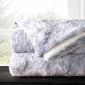 Egyptian Luxury Faux Fur Throw Blanket