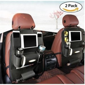 K&K Premium Car Back Seat Organizer for Multipurpose Use