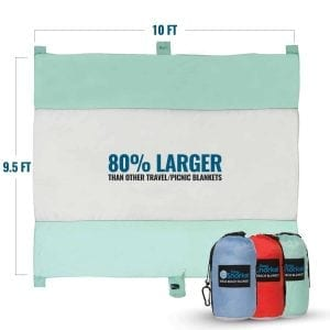 The Easy Snorkel Mega Sand-proof XXL Beach Blanket