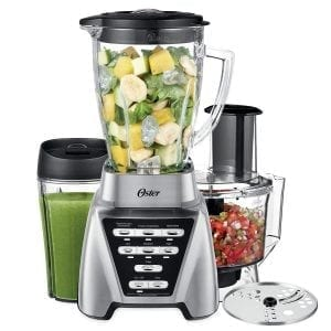 Oster Pro 1200 2-In-1 Blender with Food Processor Attachment