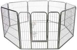 Oxgord Heavy Duty Metal Dog Playpen