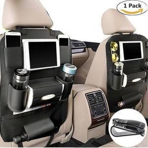 PALMOO Car Seat Back Pu Leather Organizer