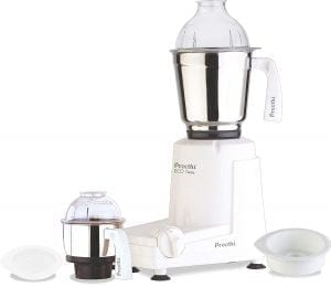 Preethi Eco 550-Watt Mixer Grinder with Twin-Jars