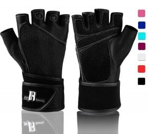 Steel Sweat Weighted Gloves