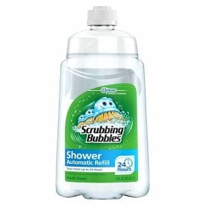 Scrubbing Bubbles Auto Shower Cleaner, Fresh Scent Refills