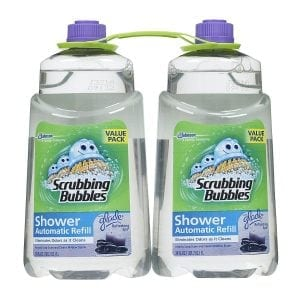 Scrubbing Bubbles Automatic Shower Cleaner Refill, Glade Refreshing Spa