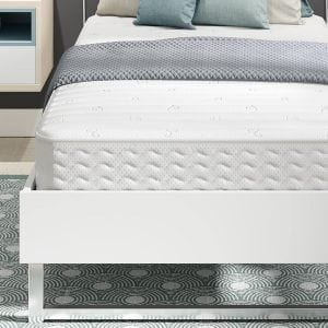 Signature Sleep Contour 8 Inch Reversible Independently-Encased Coil Mattress, Twin