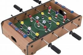 The Portable Mini Foosball Table