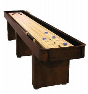 The Fairview Game Rooms 12 Foot Shuffleboard Game Table
